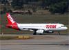 Airbus A320-232, PR-MAK, da TAM. (07/08/2014)