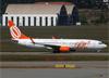 Boeing 737-8EH (SFP), PR-GTC, da GOL. (07/08/2014)