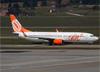 Boeing 737-8EH (SFP), PR-GGV, da GOL. (07/08/2014)