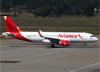 Airbus A320-214 (WL), PR-OCA, da Avianca Brasil. (07/08/2014)
