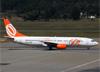 Boeing 737-8BK, PR-GOT, da GOL. (07/08/2014)