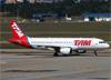 Airbus A320-214, PR-MYK, da TAM. (07/08/2014)