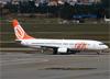 Boeing 737-8BK, PR-GOP, da GOL. (07/08/2014)