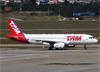 Airbus A320-232, PT-MZX, da TAM. (07/08/2014)