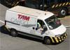 Mercedes-Benz Sprinter da TAM Cargo. (07/08/2014)