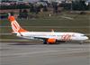 Boeing 737-8EH (SFP) (WL), PR-GXU, da TAM. (07/08/2014)