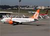 Boeing 737-8EH (SFP), PR-GGL, da GOL. (07/08/2014)