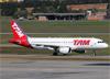 Airbus A320-214, PR-MYG, da TAM. (07/08/2014)