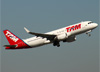 Airbus A320-214 (WL), PR-MYY, da TAM. (07/08/2014)