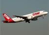 Airbus A320-214, PR-MYA, da TAM. (07/08/2014)