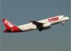 Airbus A320-232, PR-MAR, da TAM. (07/08/2014)