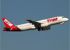 Airbus A320-232, PR-MBZ, da TAM. (07/08/2014)