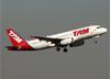 Airbus A320-232, PR-MAV, da TAM. (07/08/2014)