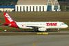Airbus A320-232, PT-MZZ, da TAM. (09/07/2011)