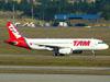 Airbus A320-232, PR-MAR, da TAM. (09/07/2011)