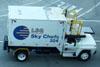 Caminhão da LSG Sky Chefs. (09/07/2011)