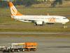 Boeing 737-8EH, PR-GTR, da GOL. (09/07/2011)