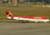 Fokker 100 (F28MK0100), PR-OAT, da Avianca Brasil. (09/07/2011)