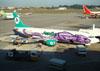 Boeing 737-497, CP-2653, da Aerosur. (09/07/2011)