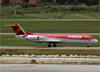 Fokker 100 (F28MK0100), PR-OAI, da Avianca Brasil. (10/12/2014)