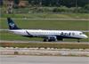 Embraer 195AR, PR-AUE, da Azul. (10/12/2014)