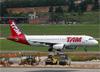 Airbus A320-232, PR-MAE, da TAM. (10/12/2014)