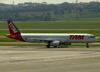 Airbus A321-231, PT-MXE, da TAM. (12/12/2012)