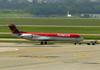 Fokker 100 (F28MK0100), PR-OAS, da Avianca Brasil. (12/12/2012)