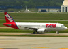 Airbus A320-232, PR-MAE, da TAM. (12/12/2012)
