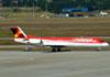 Fokker 100 (F28MK0100), PR-OAT, da Avianca Brasil. (16/06/2011)
