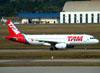 Airbus A320-232, PR-MAE, da TAM. (16/06/2011)