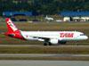 Airbus A320-214, PR-MHY, da TAM. (16/06/2011)