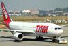 Airbus A330-223, PT-MVC, da TAM. (16/06/2011)
