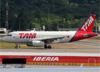 Airbus A319-132, PT-TMD, da TAM. (19/12/2013)