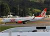 Boeing 737-8EH (SFP), PR-GTF, da GOL. (19/12/2013)