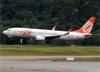 Boeing 737-8EH (SFP), PR-GTQ, da GOL. (19/12/2013)