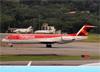 Fokker 100 (F28MK0100), PR-OAI, da Avianca Brasil. (19/12/2013)
