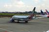 Boeing 777-243ER, EI-ISA, da Alitalia. (21/04/2013)