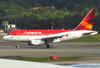 Airbus A318-121, PR-AVK, da Avianca Brasil. (21/04/2013)