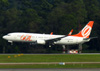 Boeing 737-85F, PR-GIO, da GOL. (21/04/2013)