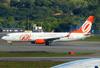 Boeing 737-8EH (SFP) (WL), PR-GUX, da GOL. (21/04/2013)
