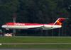 Fokker 100 (F28MK0100), PR-OAK, da Avianca Brasil. (21/04/2013)