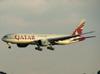 Boeing 777-2DZLR, A7-BBF, da Qatar. (21/04/2013)