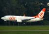 Boeing 737-73V, PR-GEE, da GOL. (21/04/2013)