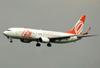 Boeing 737-8EH (SFP), PR-GTG, da GOL. (21/04/2013)