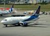 Boeing 737-33A, CP-2550, da BoA. (22/03/2012)