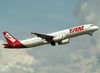 Airbus A321-231, PT-MXG, da TAM. (22/03/2012)