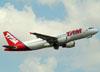 Airbus A320-214, PR-MHZ, da TAM. (22/03/2012)