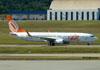Boeing 737-8EH, PR-GTP, da GOL. (22/03/2012)