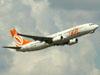 Boeing 737-8EH, PR-GGU, da GOL. (22/03/2012)